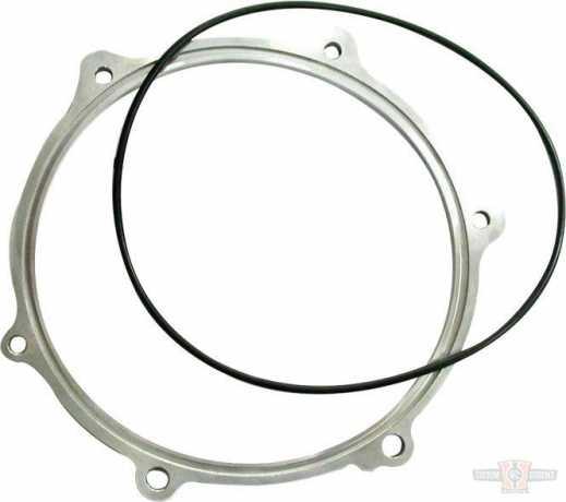 "Custom Chrome Motor/Primary Spacer-1/4"" Raw Alum  - 88-8787"