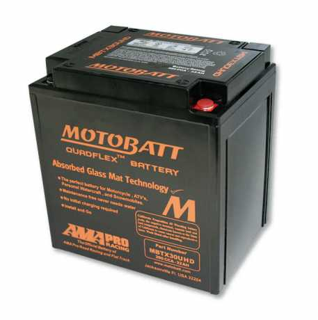 Motobatt Motobatt battery MBTX30UHD, black  - 88-8214