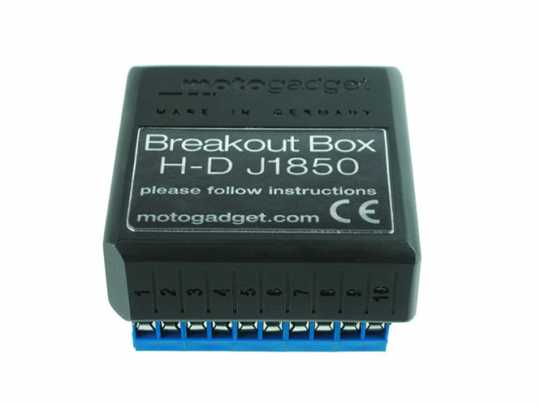 Motogadget Motoscope Pro Breakout Box J1850 DEUTSCH