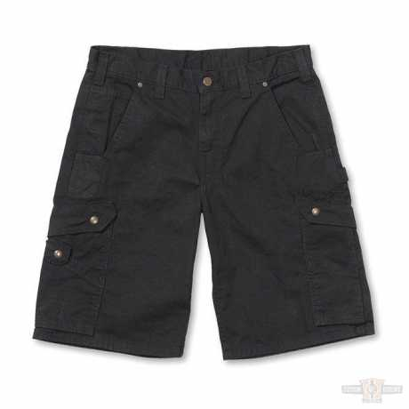 Carhartt Ripstop Cargo Work Short Black 34 - 88-9333