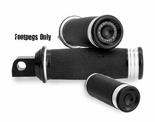 Performance Machine PM Merc Foot Peg Set,  Contrast Cut  - 88-9546