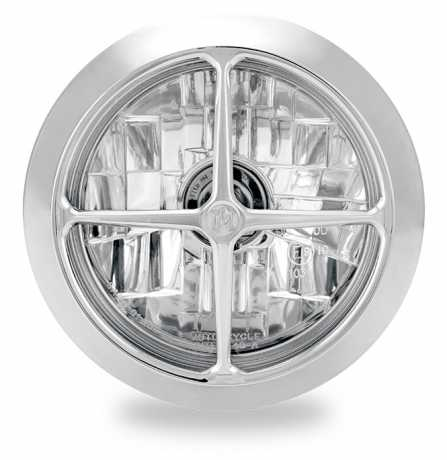 "Performance Machine PM Vision Cross 5 3/4"" Headlight Chrome  - 88-9596"