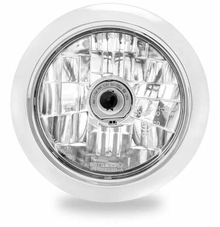 "Performance Machine PM Vision Clean 5 3/4"" Headlight  Chrome  - 88-9599"