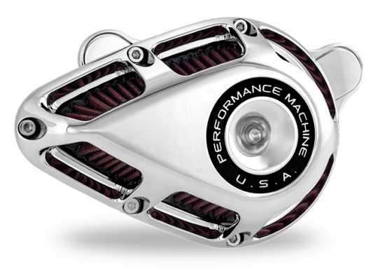 Performance Machine PM Jet Luftfilter chrom  - 88-9658
