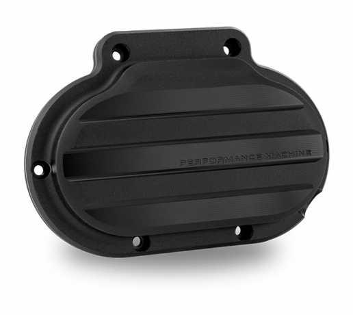 Performance Machine PM Drive Clutch Cover Assy,  Black Ops  - 88-9690