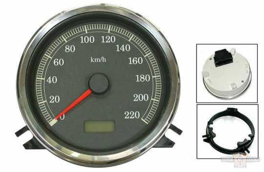 "Electronic 4.5"" Speedometer km/h  - 89-0386"