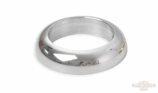 Kustom Tech Kustom Tech Handlebar / Grip Ring Alu polished  - 89-0460