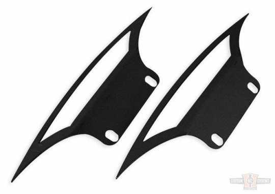 "TXT Customparts TXT Seitenplatten Front Fender  Cut Out 23""  - 89-0625"