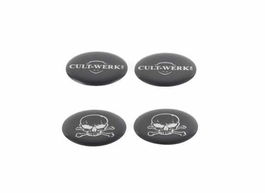 Cult-Werk Cult-Werk Cam Cover, schwarz  - 89-0774