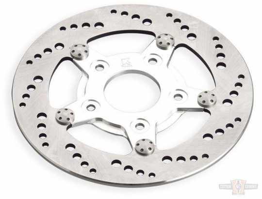 "Kustom Tech Kustom Tech Drilled Style Bremsscheibe 8.5"" hinten, links  - 89-0834"