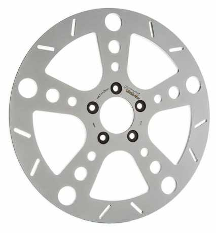 "Ricks Motorcycles Rick's Brake Disc, Rodder, 11.5"",  Stainless Steel, Polished  - 89-0910"