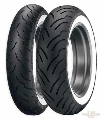 Dunlop Dunlop Reifen American Elite MU85 B 16 M/C, 77 H, TL/TT, Wide White Wall, hinten  - 89-2258