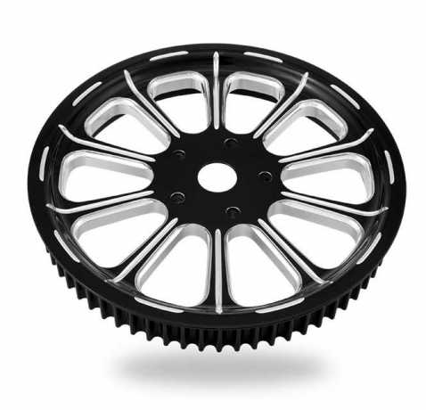 "Performance Machine PM Belt Sprocket Revel Platinum Cut 65Tx1-1/8""  - 89-2448"
