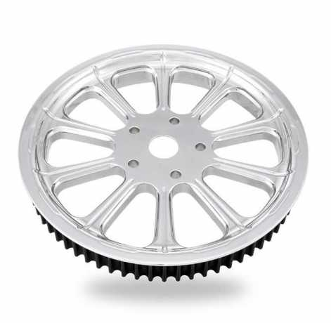 PM Belt Sprocket Revel Chrome 65Tx1-1/2""