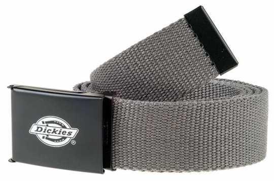 Dickies Dickies Orcutt Polyester Webbing Gürtel grau - 89-2790