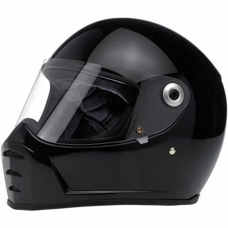 Biltwell Biltwell Lane Splitter Helm ECE, schwarz  - 956191V