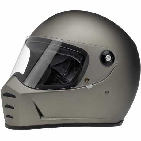 Biltwell Biltwell Lane Splitter Helm ECE, titan matt  - 89-3200V