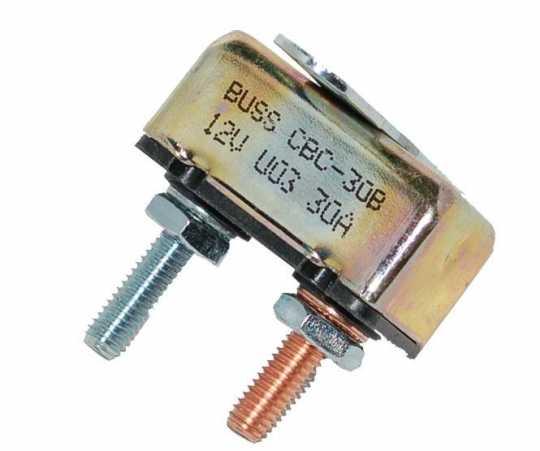 Namz Namz Circuit Breaker 30A, 10-32 Studs  - 89-3255