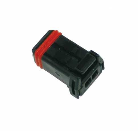 Namz MX-1900 2-Position Black Socket Housing
