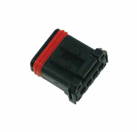 Namz Namz MX-1900 4-Position Black Socket Housing  - 89-3298