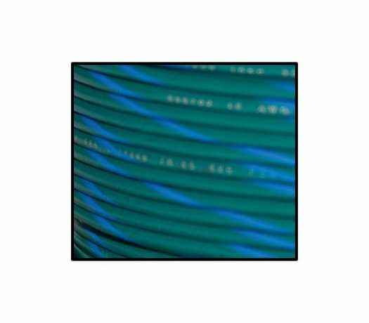 Namz Namz #18-Gauge Primary Wire Spool 30.5m, green & blue stripe  - 89-3396