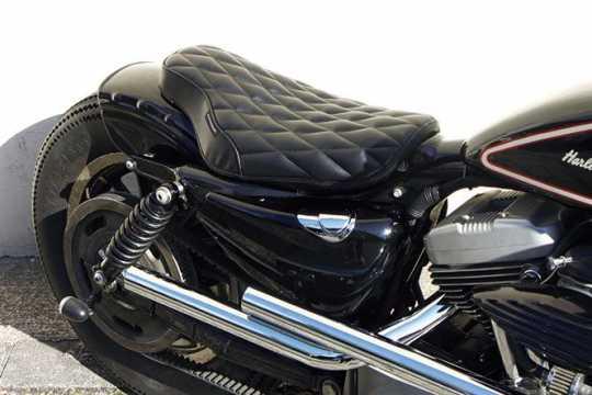 Easyriders Japan Easyriders Single Seat, Cobra, Diagonal, Synthetic Leather, Urethane Foam, Black  - 89-3807