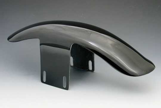 Easyriders Japan Easyriders Front Fender Short, Black  - 89-3817