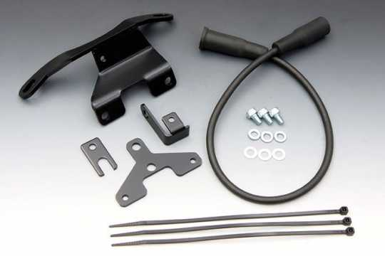Easyriders Coil Relocation Kit, schwarz