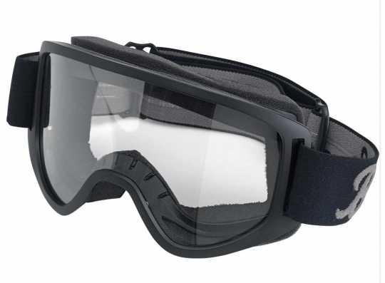Biltwell Biltwell Goggles Moto 2.0, Script black/grey  - 956176