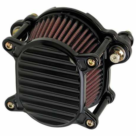 Joker Machine Air Cleaner Omega Finned, Black