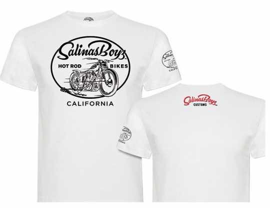 Salinas Boys Salinas Boys T-Shirt Blue Bike Logo weiss  - 89-4291V