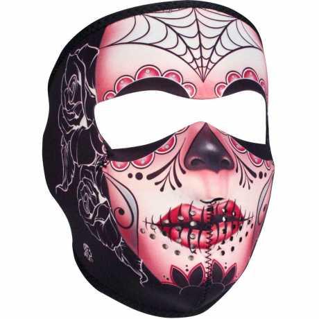 ZANheadgear ZANheadgear Full Face Gesichtsmaske Sugar Skull  - 89-4457