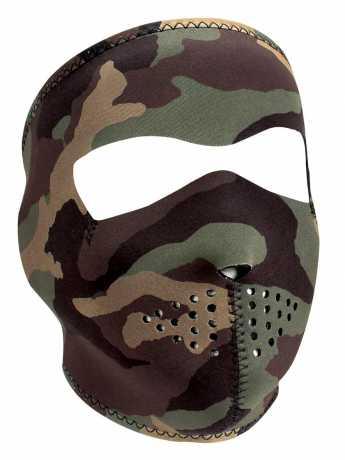 ZANheadgear ZANheadgear Full Mask Woodland Camo  - 89-4458
