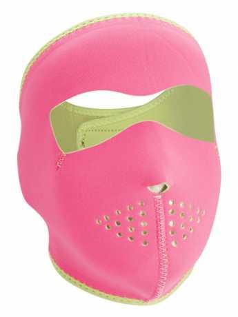 ZANheadgear ZANheadgear Full Face Gesichtsmaske Pink Reverses to Lime  - 89-4460