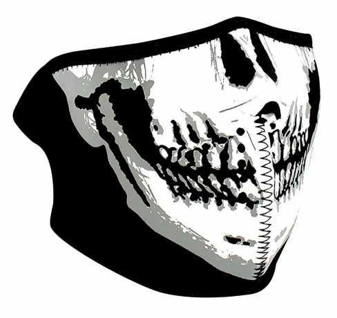 ZANheadgear ZANheadgear halbe Gesichtsmaske Skull Face  - 89-4463