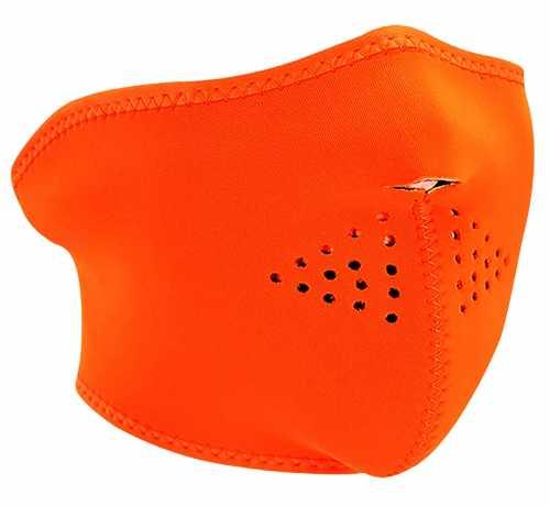 ZANheadgear ZANheadgear halb Gesichtsmaske High-Visibility, orange  - 89-4464