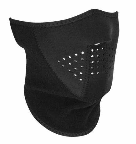 ZANheadgear ZANheadgear 3-Panel halb Gesichtsmaske, schwarz  - 89-4467