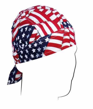 ZANheadgear ZANheadgear Flydanna Wavy American Flag  - 89-4479