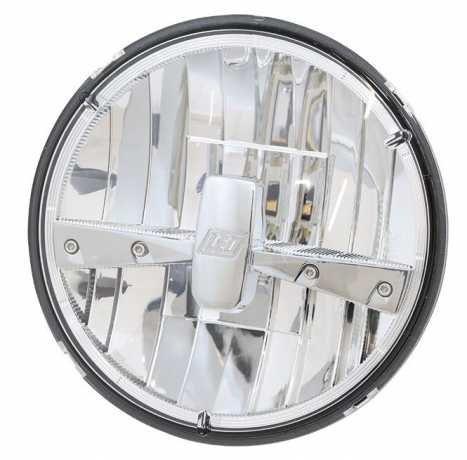 """Highsider Highsider 7"""" LED Headlight Insert, Typ 3 chrome  - 89-4520"""