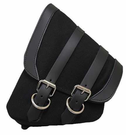 LaRosa LaRosa Canvas Left Side Saddle Bag black  - 89-5032