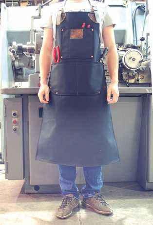 LaRosa LaRosa Canvas Schürze Heavy Duty schwarz  - 89-5046