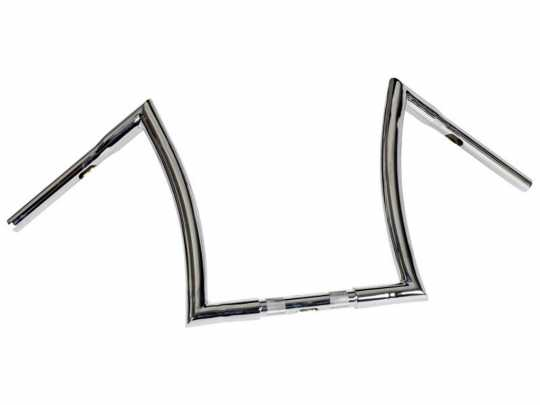 "Highway Hawk Highway Hawk Lenker Bad Ape hanger 16"" x 1.25"" chrom  - 89-5391"