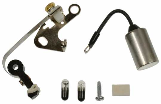 Standard Motorcycle Products Standard Points & Condenser Kit  - 89-5423