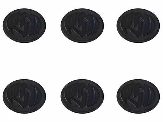 Roland Sands Design RSD Badge Kit with Logo, Black Ops  - 89-5891
