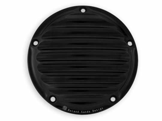 Roland Sands Design RSD Kupplungsdeckel Nostalgia, Black Anodize  - 89-5921