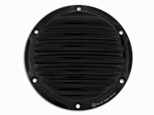 Roland Sands Design RSD Kupplungsdeckel Nostalgia, schwarz eloxiert  - 89-5927