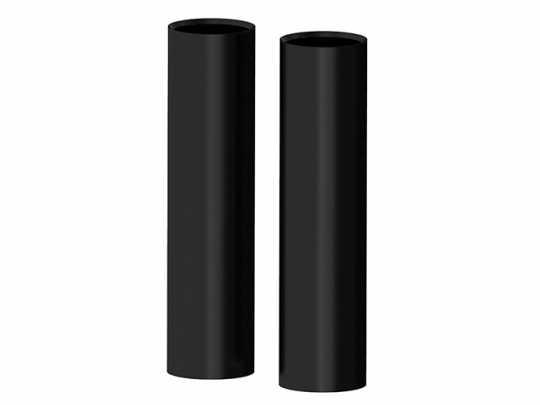 Roland Sands Design RSD Gabelcover oben Smoothie, schwarz glänzend  - 89-6032