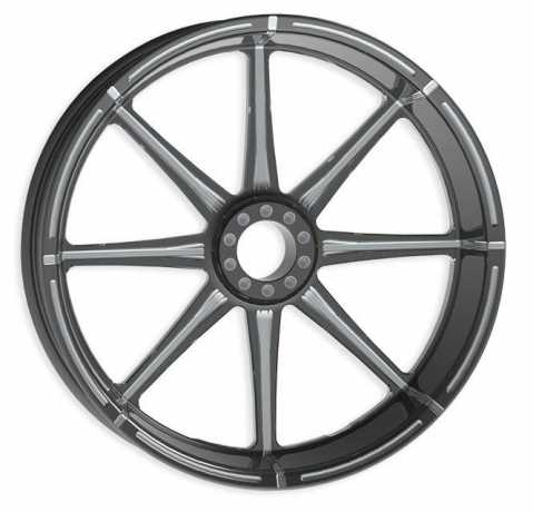 RevTech Assembled  Velocity Front Wheel  23 x 3,5  Black