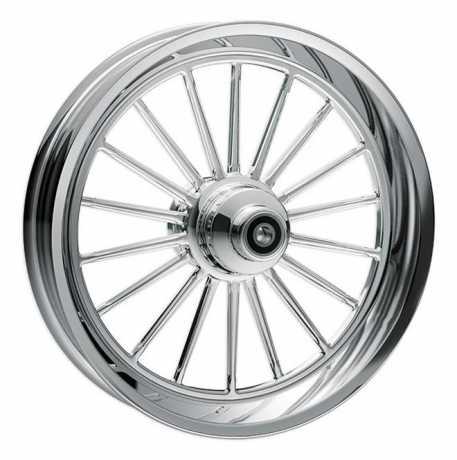 RevTech RevTech Assembled  Nitro 18 Front Wheel  23 x 3,5 Chrome  - 89-6704