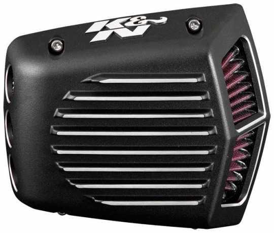 K&N K&N Street Shaker Luftfilter, schwarz matt  - 89-6765